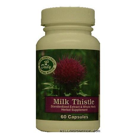 Milk Thistle - 60 Capsules