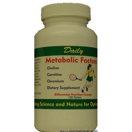 Metabolic Factors - 120 Tablets