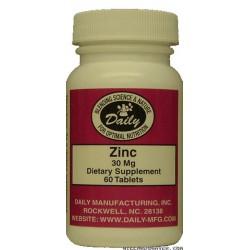 Zinc - 60 Tablets