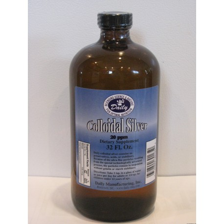 Colloidal Silver - 32oz.*