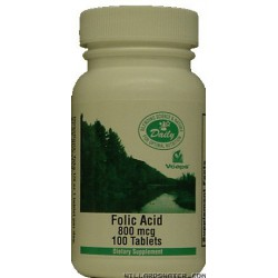 Folic Acid - 250 Tablets