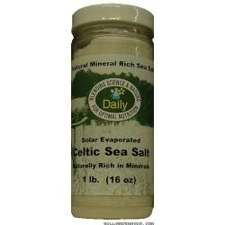 Celtic Sea Salt* -- 8-oz Jar.
