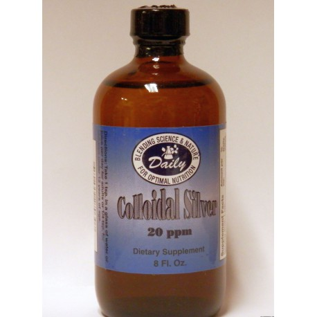 Colloidal Silver - 8oz.*