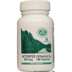 Vitamin B-12 -- Activated B-12 - 180 Capsules