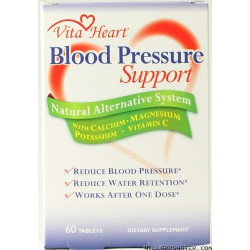 Blood Pressure Support -- 60 Tablets