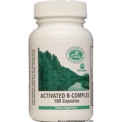 Vitamin B Complex -- Activated B-Complex - 100 Capsules