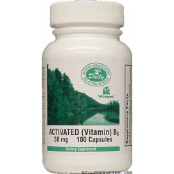 Vitamin B-6 -- Activated B-6 - 100 Capsules
