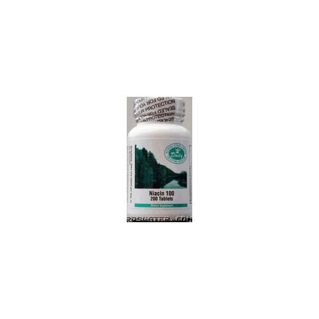 Niacin - 200 Tablets (100 MG)