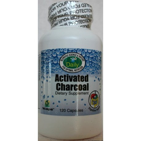 Activated Charcoal Capsules - 60 Capsules