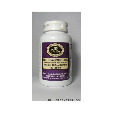 Vitamin C Timed Release (Spectra-Scorb-Plus) - 120 Tablets